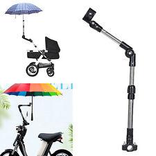Regenschirm Halterung Schirm Ständer Kinderwagen Rollstuhl Fahrrad Roller Schutz