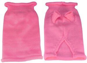 Mirage Pet Products Plain Knit Pet Sweater, Large, Pink