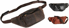 Leather Bum Bags/Waist Packs Water Resistant Bags for Men