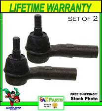 *NEW* SET Heavy Duty ES80643 Steering Tie Rod End Front Left Outer