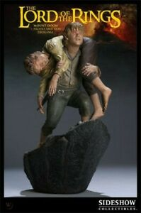 Lord of the Rings Mount Doom Frodo and Sam Diorama Statue Sideshow 280/300