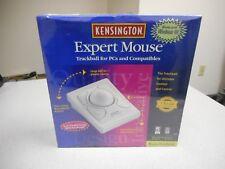 KENSINGTON MODEL: 64215 EXPERT 5.0 TRACKBALL MOUSE FOR PCS AND COMPATIBLES