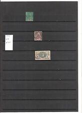 N°662 Côte d'Ivoire ( 1892-1906 ) - 3 timbres anciens oblitérés