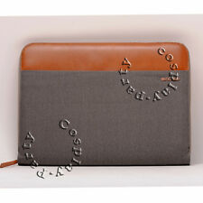 "Incase Pathway Folio Sleeve Case For MacBook Pro 13"" Gabardine Gray Brown NEW"