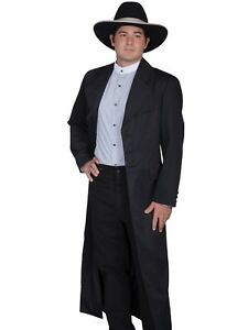 WAHMAKER by SCULLY OLD WEST COWBOY CLOTHING LONG FROCK COAT - USA MADE