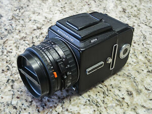 Hasselblad 501CM Medium Format SLR with Carl Zeiss 80mm f2.8 Planar CFE Lens