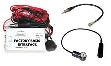 Wired FM Modulator Stock Radio Stereo Audio Input Aux + Antenna Adapter VW6 VW7