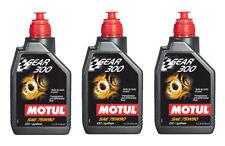 Motul Aceite Transmisión Engranaje 300 75W90 Coche Moto API GL-4/GL-5 3 Litros
