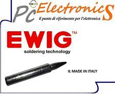 PUNTA DI RICAMBIO 1mm PER SALDATORE PROFESSIONALE EWIG ADATTA A TECNICI LONGLIFE
