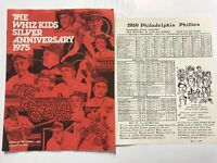 1950 Whiz Kids Philadelphia Phillies National League Champions Memorabilia