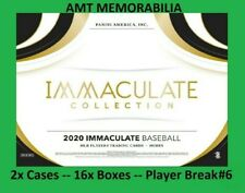 Frank Thomas Chicago White Sox 2020 Panini Immaculate 2X CASE 16X BOX BREAK #6