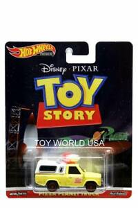 2019 Hot Wheels Replica Entertainment Disney Pixar Toy Story Pizza Planet Truck