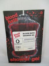 NIB True Horror Blood Bath Shower Gel Bad Prank