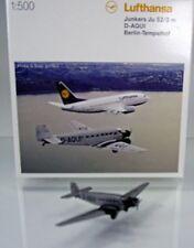 Herpa Wings 516709  Junkers Ju-52 Lufthansa D-AQUI - Scale 1/500