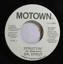 Soul Promo Nm! 45 Dr. Strut - Struttin' / Struttin' On Motown Record Corp.