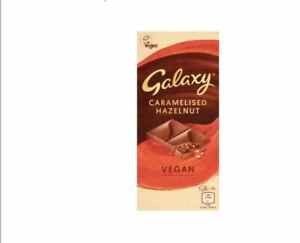 VEGAN GALAXY CHOCOLATE! CARAMELISED HAZELNUT BAR 100g