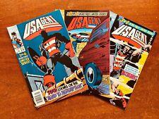 Lot: U.S.Agent Vol. 1, Issues 1-3 1993 Captain America