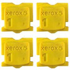 "YELLOW GENUINE XEROX ColorQube 8570 / 8580 INK ""4-PACK"" 108R00928"