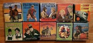 Lot of 10 Big Little Books / Saalfield