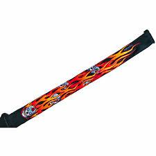 Flaming Sugar Skulls Guitar Strap Grover Allman
