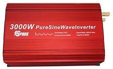 3000W (6000W) onda senoidal pura energía inversor de arranque suave DC12V-AC240V