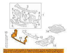 Hummer GM OEM 06-10 H3 Radiator Support-Air Baffle Duct Deflector 25786710