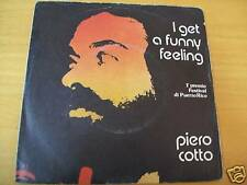 "PIERO COTTO I GET A FUNNY FEELING   7"" RARO MARTELLI"