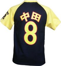 Da Uomo Giapponese Manga Retrò Sport t-shirt maglietta vintage ANIME Tokyo 8 Medium Nuovo