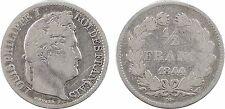 1/2 franc, Louis Philippe Ier, 1844 Lille, RARE - 70