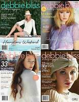 DEBBIE BLISS KNITTING PATTERN MAGAZINES - VARIOUS