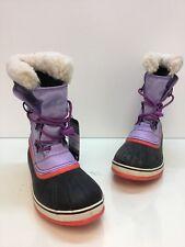 Women's Sorel Waterproof Boots Purple NY 1785-505 Size 7