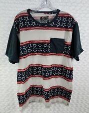 bfc94ee1bc983 Retrofit Men s Short Sleeve T-Shirt XXL American Flag Patriotic Red White  Blue
