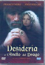 Desideria e l'anello del drago (1994) DVD NUOVO Anna Falchi Franco Nero Lam Bava