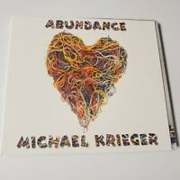 CD Abundance Michael Krieger 2003 Backpack Folk Indie Private Press World Music