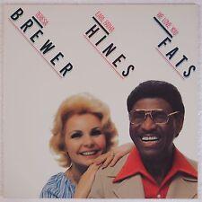 TERESA BREWER & EARL FATHA HINES: We Lov You Fats RARE Jazz VINYL LP