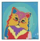 PERSIAN CAT Fine Art on Resin Canvas Ltd Ed Embellished Sig. by Tania Oliveira