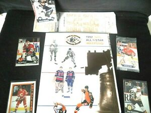 92'NHL All Star Weekend Official Program/Wayne Gretzky/Ray Bourgue Cards