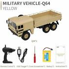 CIS-Q64 6WD army truck with 2.4 GHz remote, lights and rechargeable batteries