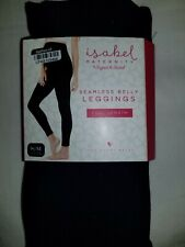 Leggings S M Maternity Maternity Isabel Ingrid Full Length Indigo Blue Seamless