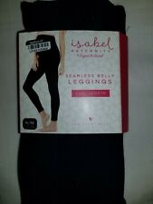 Leggings M L Maternity Isabel Ingrid Full Length Indigo Blue Seamless Belly