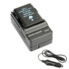 DSTE EN-EL14 EN-EL14A Battery + Travel and Car Charger for Nikon D3100 D3200