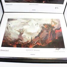 NEW Dragon Age 2 II Garrett Hawke Lithograph OOP Numbered 448/500
