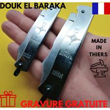 COUTEAU DOUK DOUK EL BARAKA  Acier Carbone Made in France GRAVURE GRATUITE