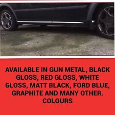 FORD TRANSIT ST SPORT REPLACEMENT SIDE SKIRT KIT DECALS STICKERS GRAPHICS