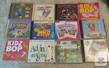 lot of 12 childrens software and music Cds3 to 10 reading writing,countg,Addg,#2