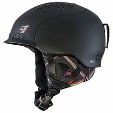 K2 Women's Virtue Helmet Black, Small.(51-55cm) with Audio Sistem .NEW