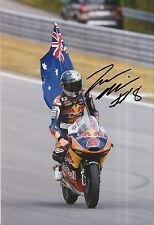 Jack Miller mano firmado 12x8 Foto Red Bull KTM Ajo Moto 3, MotoGP 5.