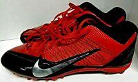 Nike Alpha Talon Elite 2 TD Football Cleats Men's Size 14 Red and Black
