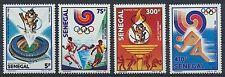 Senegal 983/86 postfrisch / Olympiade ..........................................