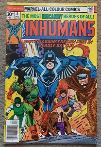 Marvel INHUMANS Comic # 8  December 1976